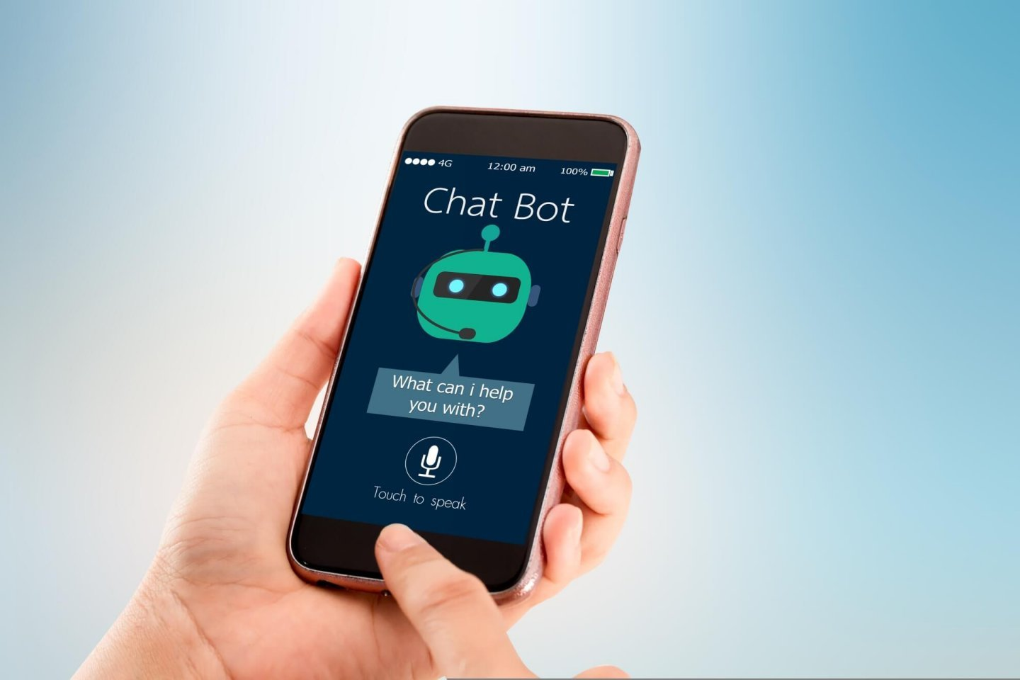 Improving a third party chatbot widget's performance