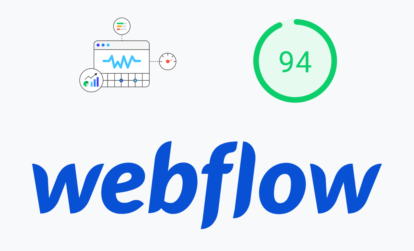 Webflow pagspeed and Core Web Vitals
