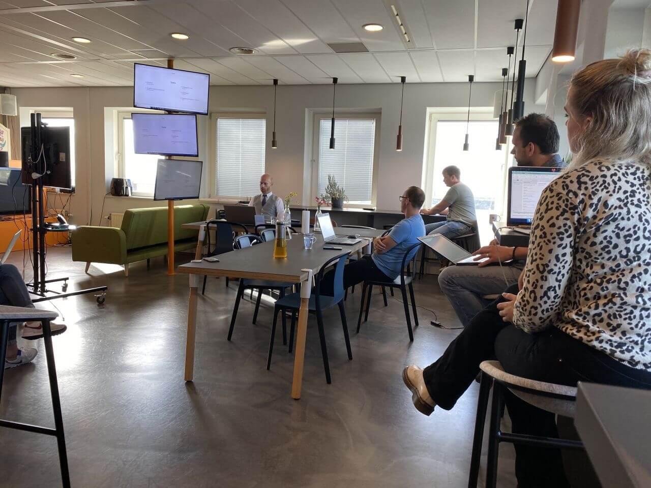 Visiting three marketing and development agencies