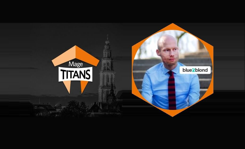 Talking at Mage Titans, a Magento event