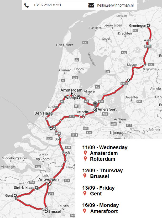 Belgian tour